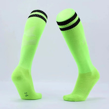 2017 top quality football socks soccer socks mens kids boys sports durable long adult basketball thickening sox medias de futbol(China)