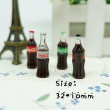 Kawaii coke 3d resin cabochon for phone deco diy Embellishment Free shipping(China)