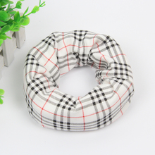 2017 Fashion Kids Ring Scarf Girls Boys Classic Plaid Scarfs Collars Winter Warm Cute Scarves New Children Accessories 2-6 Years