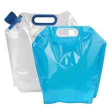 5L High-quality BPA free Folding Camping Water Tank / Portable Gasoline Tank / Collapsible Water Bottles on Car for Emergency
