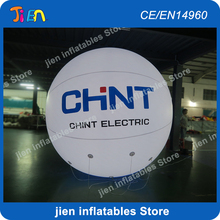 Free shipping, 2pcs/lot, 2M /3M LED sky balloon, light advertising inflatable balloon(China)