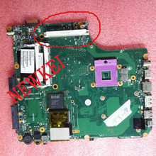 SPS: V000126450 For Toshiba Satellite A300 A305 laptop motherboard Video card slot ,SATA CD-ROM.100% TEST.CHECK THE PICTURES