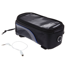 "Good deal Bike Bicycle Frame Front Tube Bag for Cell Phone 4.8"" PVC"