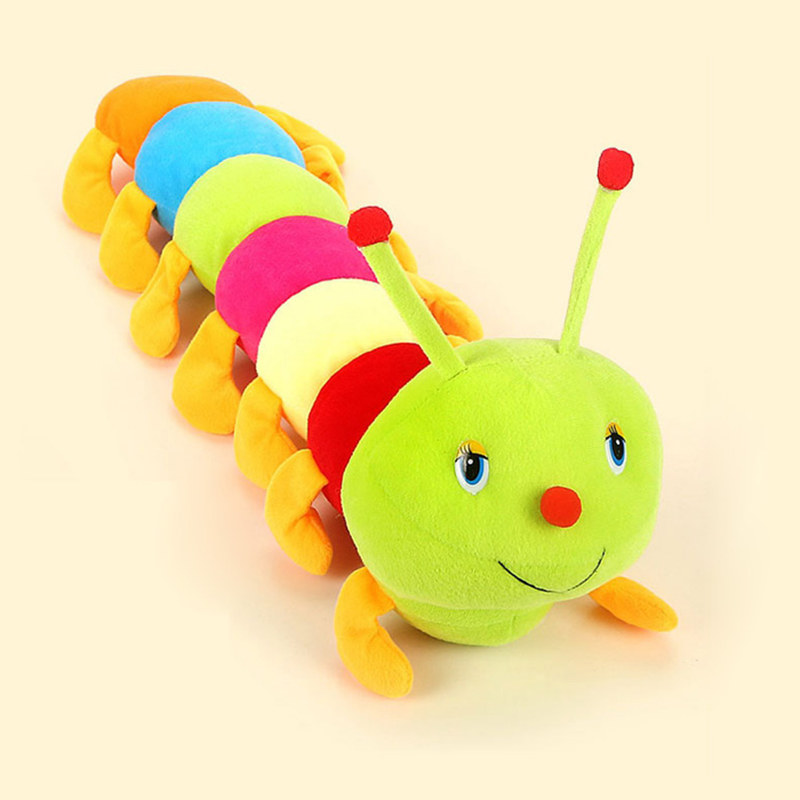 Details about Colorful Infant Carpenterworm Inchworm Soft Developmental Baby Lamaze Plush Toys(China)