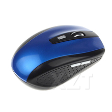 Newest Portable Mouse Sem Fio Portable 2.4Ghz Wireless Optical Gaming Mouse Gamer Mice For PC Laptop Computer Pro Gamer(China)