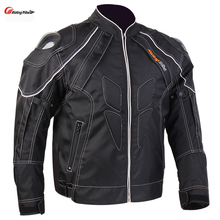 Motorcycle Men's Protecitve Jackets Carbon fiber Shoulder Street Road Motocross Body Armour Carbon fiber Protective Gear Jackets(China)