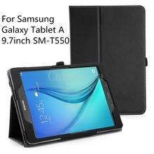 For Samsung Galaxy Tab A 9.7,Ultra Slim Lightweight SmartCover Stand Case For Samsung Galaxy Tab A SM-T550 9.7-Inch Tablet