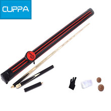 High Quality Cuppa 3/4 Snooker Cues Stick 9.8mm Tip With Three Colors Snooker Cue Case China 2016