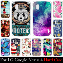 FOR LG Google Nexus 4 E960 Hard Plastic 4.7 inch Cellphone Mask Case Protective Cover Housing Skin Mask Shipping Free