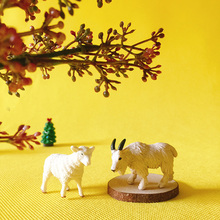 sheep/goat/miniatures/figurine/fairy garden gnome/terrarium decoration/crafts(China)