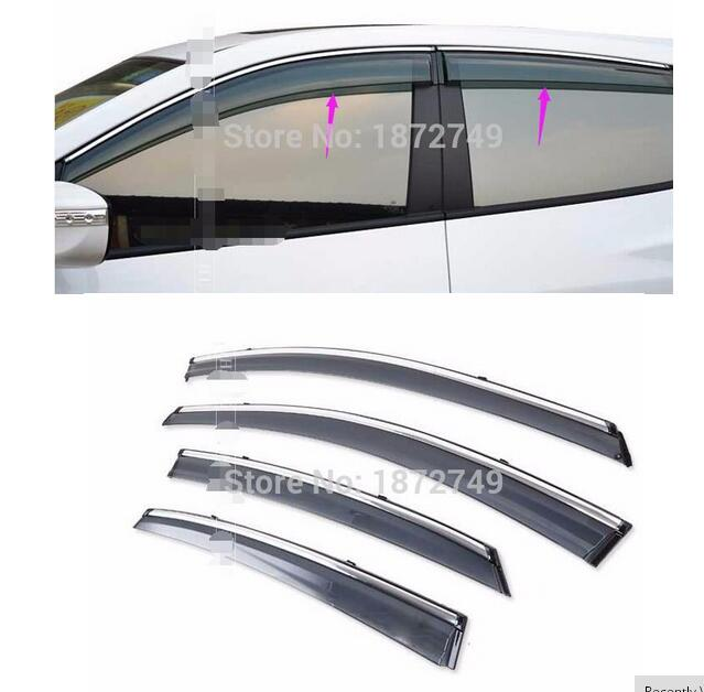 Shelters window visor decoration products Exterior  aviod sun For Skoda Octavia A7 Awnings <br><br>Aliexpress