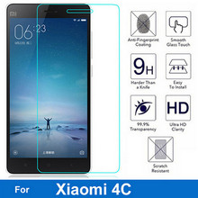 Buy 2Pcs/lot Explosion-proof Front Tempered Glass Film Xiaomi Mi 4C Dual Sim mi-4C LCD Screen Protector pelicula de vidro for $1.69 in AliExpress store