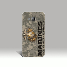 08891 Usmc Marine Corps Camouflage cell phone case cover for Samsung Galaxy J1 ACE J5 2015 J7 N9150 2016