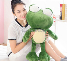 Super Big Cute High Quality  Prince Frog Toy 28'' / 70cm  Soft Plush Toy PP Cotton Stuffed Plush for Christmas gift