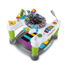 Free Shipping Baby Throne Little SuperStar Step Play Piano Baby Walker Baby Activity Jumper Activity Station Play Space(China)