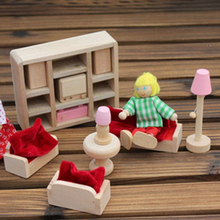 New Kids Wooden Toys Jigsaw 3D Wooden Puzzle House Building Toys Children's Educational Chalets Wood Toys for Birthday Gift