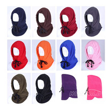 Warm Winter Hats Windproof Ear Sub Multifunction Face mask For Outdoor Riding Climbing Hat Hat Scarf Collars Thickening Cap(China)