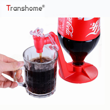 1Pcs Fizz Saver Soda Dispenser Bottle Coke Upside Down Drinking Cola Dispense Party Bar Kitchen Gadgets Soda Tap(China)