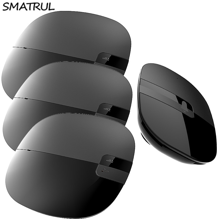 SMATRUL Waterproof Wireless Doorbell Slim EU US Plug 280M long range home Door Bell ring chime 1 button 3 receiver with batttery<br>