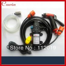 Free ship Cigarette Lighter powered portable 12v 60w car wash device car washer washing gun water pump Auto wash clean machine