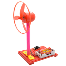 Children 's Homemade Solar Cell Power Generation Experimental Model Assembly DIY Electric Fan Science Equipment Toys ingbaby