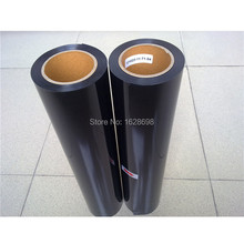 CDU-01 black color Free shipping PU Heat Transfer Film and Heat Transfer Thermo Film For Garment 50x500cm / lot(China)