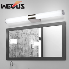 40cm minimalist led mirror light bathroom wall lamp bedroom makeup lighting 85-265V 8W