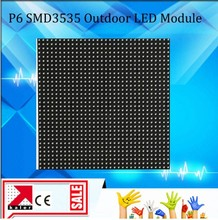 TEEHO outdoor p6 led panel 3535SMD waterproof rgb led panel 192 X 192 32 X 32 dots 1/8s for big high bright outdoor led screen(China)