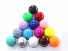5 PCS/Lot 16mm Bell Ball Fit For Locket Cage Musical Sound Colorful Harmony Ball Pregnant Gift Sound Bell Balls Jewelry