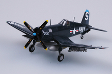EASYMODEL scale model 37236 1/72 scale aircraft F4U-4B VF-53 assembled model plane finished model  does not need to assemble