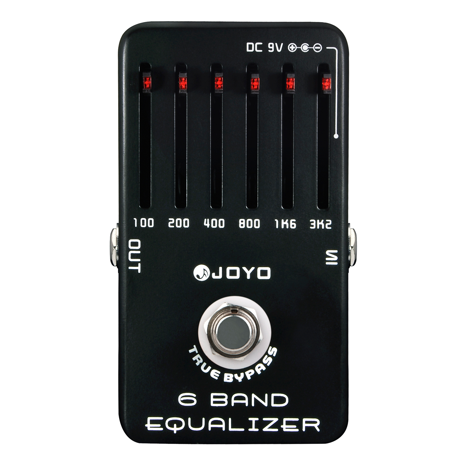 JOYO 6 Band Equalizer Electric Guitar Effect Pedal True Bypass JF-11  JF 11<br><br>Aliexpress