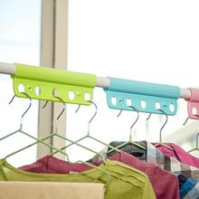 New Creative Anti Skid Clothing Hanger Outdoor Windproof Fixed Laundry Drying Racks Wardrobe Clothes Hangers Home&Garden