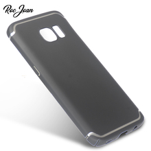 Ultra Thin Hard PC Case for Samsung Galaxy S7 Edge / S7 Back Cover Black S7Edge Coque Fundas Capinha(China)