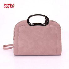 Fashion Brand Women Messenger Bags New Shoulder Bag High Quality PU Leather Bag Simple Clutch Handbags WN 20(China)