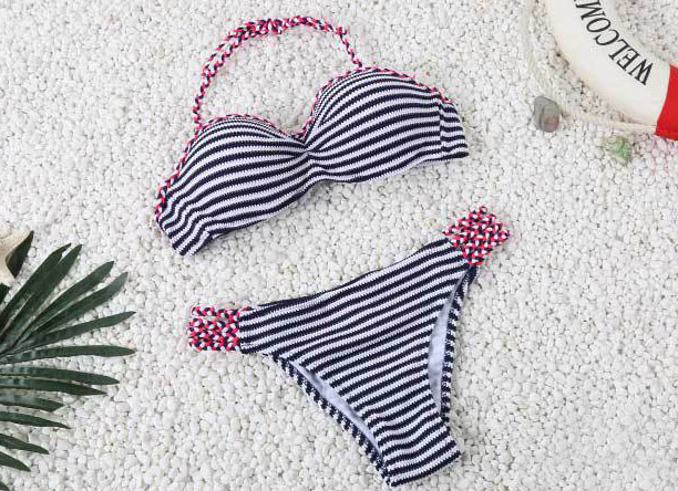 2017 New Womens swimsuit Handmade Crochet Bikini set Knitted Women Biquini Swimwear Female Beach Bathing Suit 3015<br><br>Aliexpress