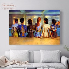 Pink Floyd Music Nude Women Canvas Art Print Painting Poster Wall Pictures For Room Decoration Home Decor No Frame Silk Fabric(China)