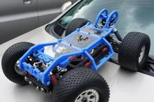 rc car frame op parts , roll cage RC accessories Protective cover Imported nylon production For Thunder Tiger MT4 G3(China)