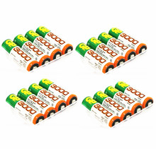 16 PCS/lot Wholesale For GP AA 1.2 V Ni-MH 3000mAh AA Rechargeable batteries' toys(China)