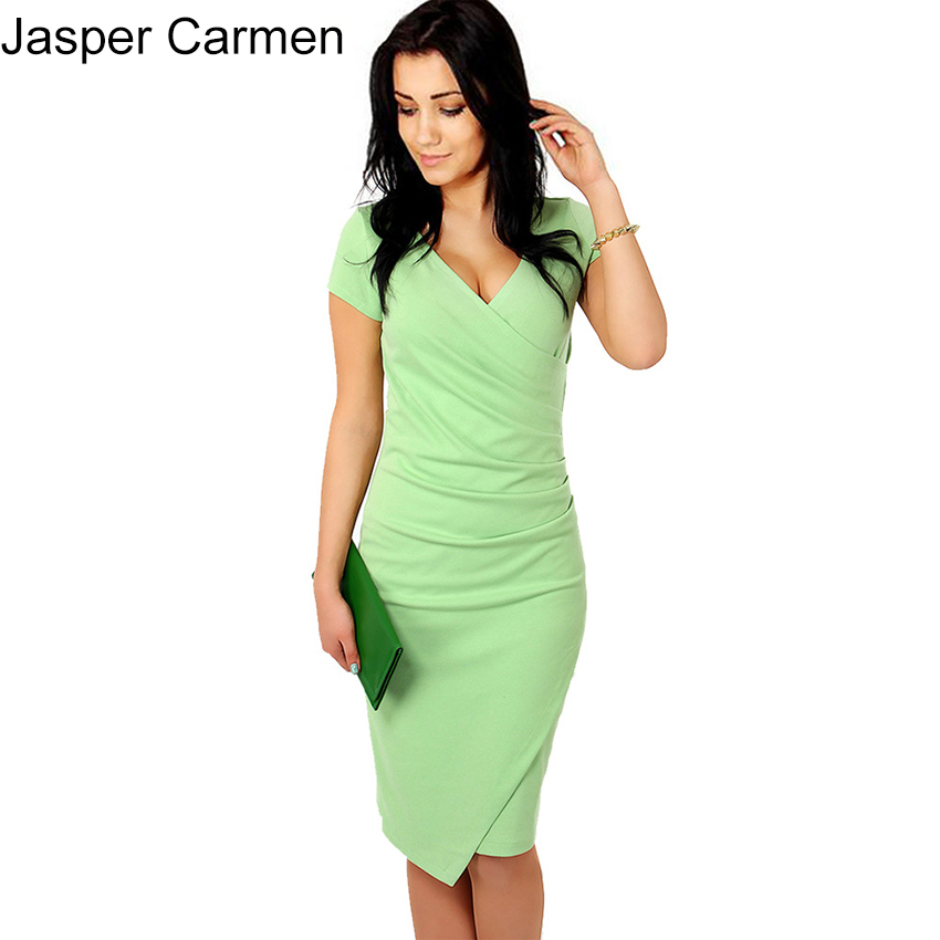 2017 Summer Dress Women Bodycon Dress Plus Size Women Clothing Sexy Fashion Casual Dress Candy Color WN 20(China (Mainland))