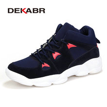 DEKABR New Brand Men Running Shoes For Men Sneakers Breathable Mesh Sport Shoes Comfortable Walking Shoes Zapatos Hombre