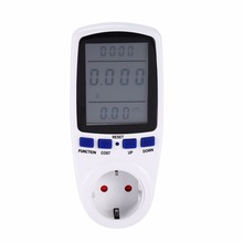 EU/UK/AU/US Plug in Energy Watt Meter Electricity Monitor Power Analyzer