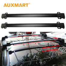 Auxmart Car Roof Rack Bar for Jeep Compass 2011~2016 Roof Rails Racks Cross Bars Boxes Load Carrier Cargo Luggage 132LBS/60KG(China)