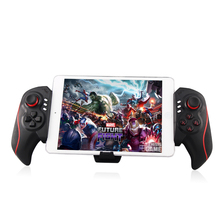 2017 Hot BTC-938 Portable Mobile Wireless Bluetooth Telescopic Gamepad Game Controller Joysticks for IOS Android Samsung Galaxy