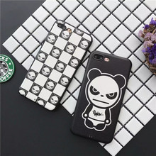 2017 Latest Fashion violence bear Case for iPhone7 7Plus Soft TPU silicone SP series class iPhone6 6S 6Plus Back Cover Shell