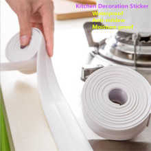 Mildewproof Roll Tape Sealing Strip waterproof wallpaper for corner seam Bathroom Kitchen accessories !