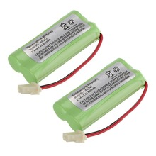 10 PCS  Cordless Home Phone Battery Rechargeable NiMH battery Pack for AT&T BT166342 BT266342 TL32100