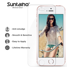 Buy Suntaiho 9H Tempered Glass Film iPhone 5 5s 5c SE screen protector guard film front case cover Retail Package for $1.99 in AliExpress store