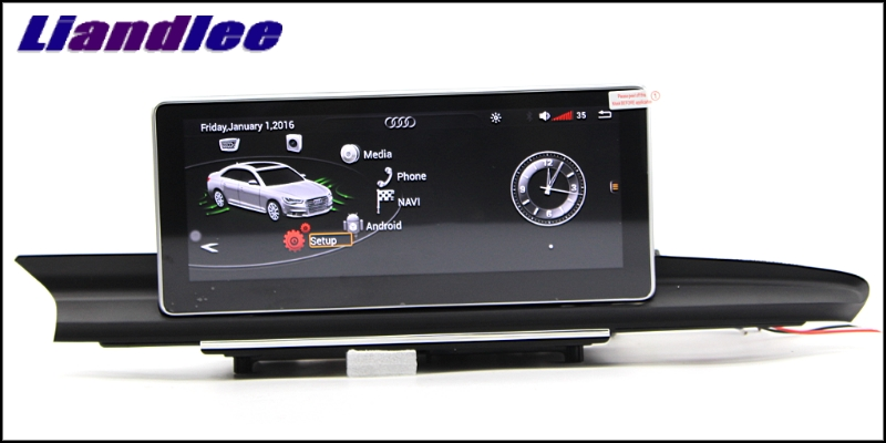 Liandlee Car Multimedia Player NAVI For Audi A6 A6L S6 RS6 C7 4G 2012~2018 Accessories 10.25 inch Radio Stereo GPS Navigation 3