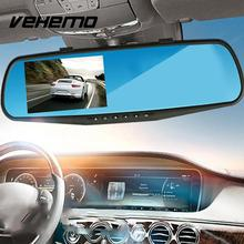 1080P Car DVR DVRs Camera Registrator Dash Cam 2.8 inch Rearview Mirror Digital Video Recorder G-Sensor Night Vision Camcorder