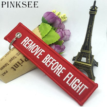 PINKSEE Lanyard Auto Key Chain Keys Ring Hanging Strap Fabric Canvas Lanyards Keychains Bag Phone Charm Pendant